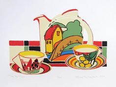 Clarice Cliff continued                                                                                                                                                                                 More