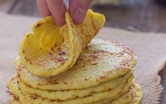 Tortilla's van bloemkool