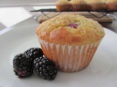 Orange Blackberry Muffins