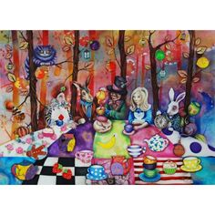 Kerry Darlington - Mad Hatters Tea Party