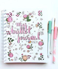 My bullet journal bullet journal bullet journal deckblatt, b Bullet Journal Cover Ideas, Bullet Journal Notebook, Bullet Journal Layout, Journal Covers, Bullet Journal Inspiration, Art Journal Pages, Bullet Journals, Cute Scrapbooks, Filofax