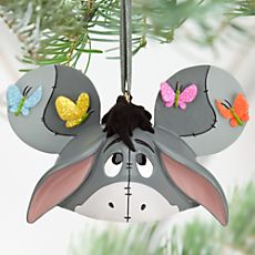 Eeyore Ear Hat Ornament AHHHHHHHH I am going to spend all of my money on these!!