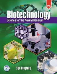 EMC Publishing's Biotechnology: Science for the New Millennium, First Edition, Revised - Hardcover Textbook. The revised edition of Biotechnology: Science for the New Millennium is the perfect textbook and lab manual combination program for your classroom! Designed for introductory courses, this complete program teaches the concepts and hands-on lab procedures required for entry-level careers in the rapidly growing biotechnology industry.