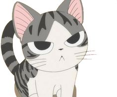 Anime jokes and pics! Oh and also some non-anime stuff. Includes funny videos and pics! Anime Kitten, Gato Anime, Manga Anime, Anime Neko, Chi Le Chat, Chat D'anime, Chat Kawaii, Kawaii Cat, I Love Cats