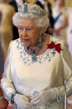 Jewels given to the Queen on her coronation in God Save The Queen, Hm The Queen, Royal Queen, Her Majesty The Queen, King Queen, Royal Crowns, Royal Tiaras, Beauty And Fashion, Royal Fashion