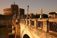 Viaggi con ricordi: ROMA: gli Angeli di Ponte S. Angelo e i loro simbo...