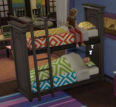 Martine Simblr: Functional Bunk Bed