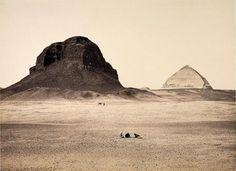 The Pyramids of Dahshoor (1858)  Francis Firth