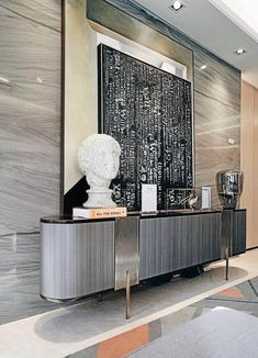 100 modern buffets and cabinets for your interior design Luxury Home Furniture, Unique Furniture, Furniture Design, Luxury Dining Room, Dining Room Design, Contemporary Home Decor, Modern Interior Design, Modern Buffet, Cabinet Design