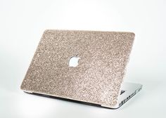 Glitter Macbook Case- Champagne Gold