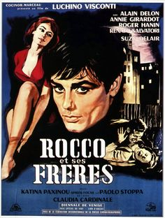 ROCCO ET SES FRERES de Visconti avec Alain Delon, Annie Girardot, Roger Hanin, Renato Salvatory, Suzy Delair.