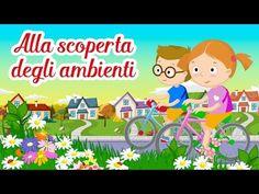 Alla scoperta degli ambienti - Canzoni per bambini di Mela Music - YouTube