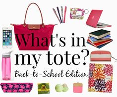College and/or work tote bag essentials that every stylish and ...