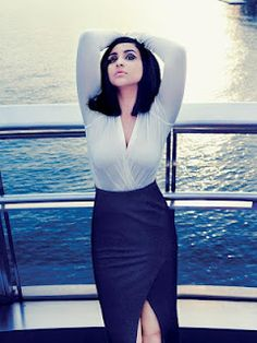 Parineeti Chopra's Harper's Bazaar Magazine India July 2012 Pictures. | Bollywood Cleavage