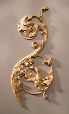 I always marvel at how intricate wood carving can be