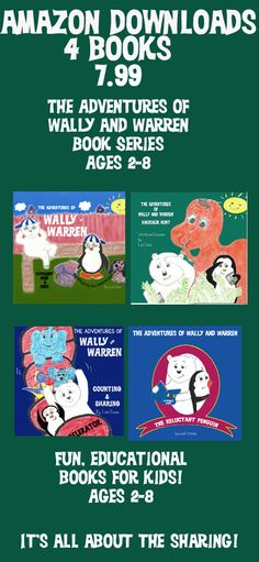 The Adventures of Wally and Warren book series #wallyandwarren #books #read #Amazon #kindle