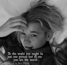 for me Marcus is my world❤️❤️❤️😝 My Everything Quotes, He Is My Everything, Dream Boyfriend, Boyfriend Quotes, My World Quotes, Love Him, My Love, Cute Texts, Bae Quotes