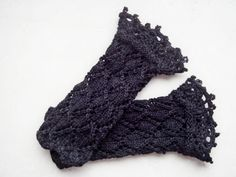 Crochet Lace Gloves