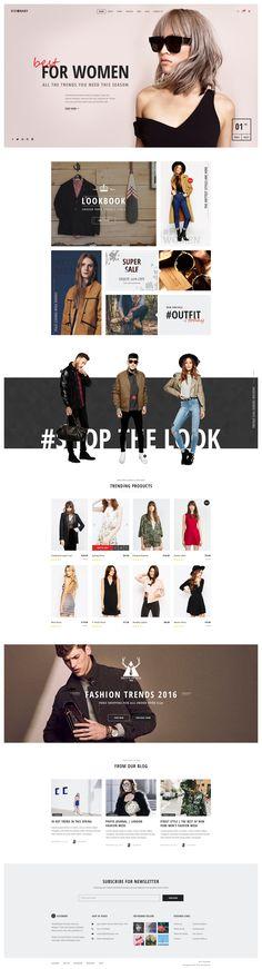 Ознакомьтесь с этим проектом @Behance: «Visionary - eCommerce Shop PSD Template» https://www.behance.net/gallery/35282403/Visionary-eCommerce-Shop-PSD-Template