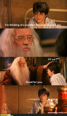 Condescending Dumbledore.                   Not sure why, but this made me LOL :)    #harrypotter #dumbledore #humor #funny