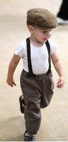 baby clothes on newborn baby boy
