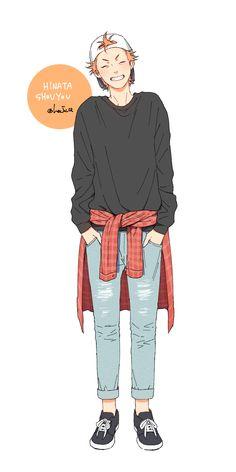 Haikyuu FF (german) Du bist ein Mädchen was schon bald d. Hinata Shouyou, Kagehina, Oikawa Tooru, Anime Outfits, Fanarts Anime, Anime Characters, Manga Boy, Manga Anime, Character Inspiration