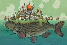 Detailed Illustrations by Jared Muralt