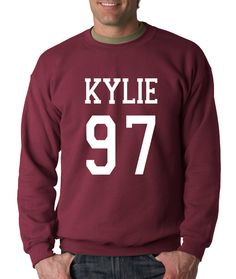 Crewneck Kylie 97 Long Sleeve Birth Year from $15.99 at xpressiontees.etsy.com   #ExpressionTees