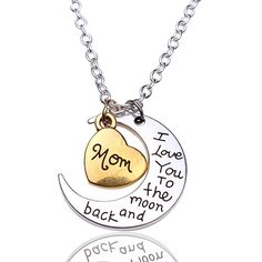 """Free+Giveaway:+""""I+Love+You+To+The+Moon+And+Back""""+Silver+Necklace+Giveaway+  Enter+Here:+http://www.giveawaytab.com/mob.php?pageid=380890008771082"""