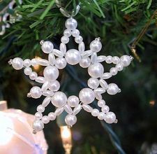 Vintage Beaded Ornament