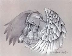 angel holding a baby tattoo – Rate My Ink – Tattoo Pictures … Baby Engel Tattoo, Engel Tattoos, Bild Tattoos, Arm Tattoos, Ankle Tattoo, Ribbon Tattoos, Angel Tattoo Drawings, Angel Drawing, Baby Drawing