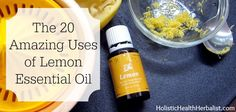 If you think you know all there is to know about lemon essential oil, think again! I bet you didn't know about these amazing uses for your home and health!
