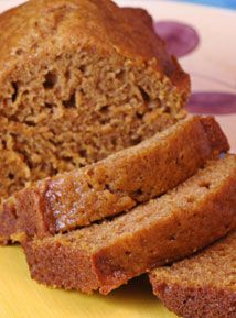 Seasonal Pumpkin Bread by Jordan Rubin