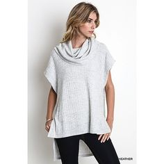 Gray Sweater . Brand new, all sizes Brand new with tags. I have sizes S M L. Ships out in 3-4 days. Sweaters Shrugs & Ponchos