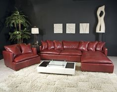 Full Top Grain Leather Furniture Made In America For The Best Value Durability