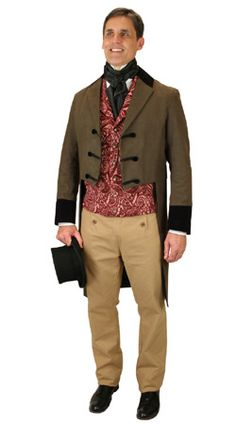 401fb24b3 Regency Clothing for Men at Historical Emporium