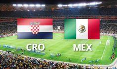 Mexico VS Croacia en el mundial de brasil 2014.