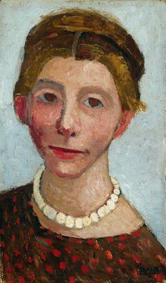 Self Portrait, Paula Modersohn-Becker