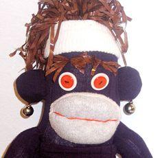 Pur-palicious™ Sock Monkey Eco Kids, Kids Toys, Upcycle, Sock Monkeys, Socks, Christmas Ornaments, Holiday Decor, Creative, Products
