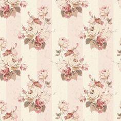 빈티지 장미 꽃 패턴