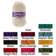 Shop for Classic Wool Bulky Yarn. Free Shipping on orders over $45 at Overstock.com - Your Online Sewing
