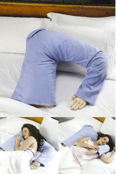 Husband/Boyfriend pillow. For women who are lonely when their husbands or boyfriends are away!