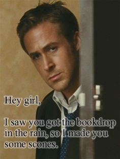 """From the """"Hey girl, I like the library too"""" Ryan Gosling meme.  Ryan Gosling understands the trials and tribulations of being a librarian..."""