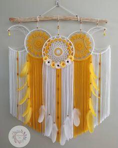 Dream Catcher Decor, Macrame Patterns, Girl Fashion, Diy, Photo And Video, Instagram, Chile, Craft Ideas, Crochet Sunflower