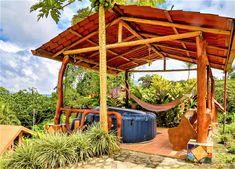 Forest Habitat, Adventure Activities, Tropical Garden, Costa Rica, Habitats, Lush, Pergola, Cottage, Outdoor Structures
