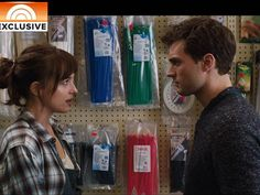 Fifty Shades of Grey Movie extended clip reveals just what Christian wants - Pop Culture - TODAY.com