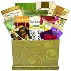 Tea Lovers Care Package Snacks and Treats Gift Box with Mug - http://www.specialdaysgift.com/tea-lovers-care-package-snacks-and-treats-gift-box-with-mug/