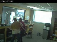 On July 23, 2012, at approximately 9 a.m., a suspect entered the Cricket Wireless Store at 75th and Prospect. The suspect a displayed knife, punched clerk, and then duct-taped him before stealing an undetermined amount of money. If you have any information about the suspect, please call the TIPS Hotline at 816-474-TIPS.