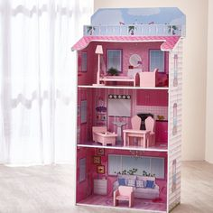 Teamson Kids - Glamour Mansion Fold In Doll House