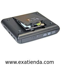 Ya disponible Regrabador dvd platinet externa combo negra   (por sólo 64.95 € IVA incluído):   - PLATINET COMBO NETBOOK - es una combinacion única de Grabador+Reproductor Externo DVD, Carcasa para HDD (Pioneer), Hub USB, y lector de tarjetas - todo en un simple y fino aparato. - Reproductor CD/DVD incorporado es capaz de leer y grabar discos DVD±R/RW, CD-R/RW. Hub USB 2.0 integrado y lector de tarjetas capaz de leer la gran mayoria de tarjetas / dispositivos del mercado